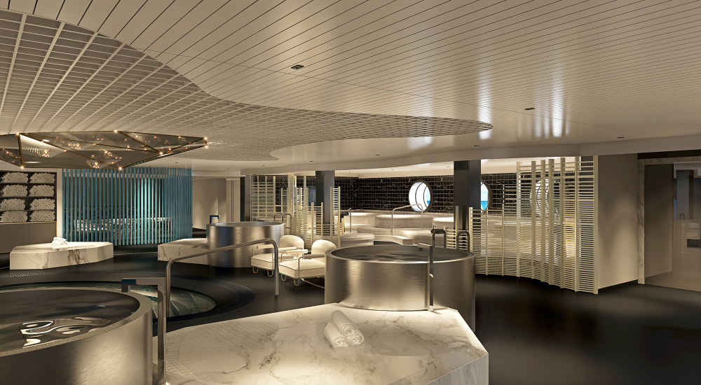 Virgin Voyages Redemption Spa thermal suite
