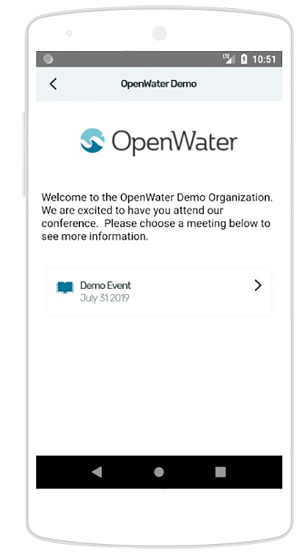 Open Water ProgramBook demo