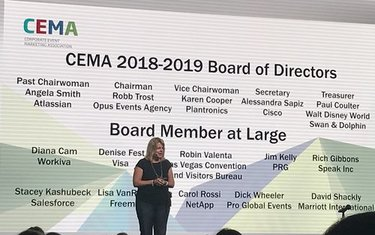 Kim Gishler at CEMA Summit