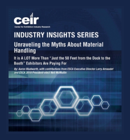 New CEIR Reports Address Material Handling, Event Marketing