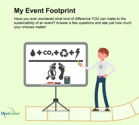 MeetGreen Launches My Event Footprint Sustainability App | Corporate