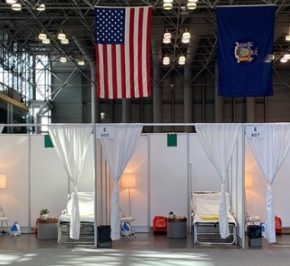 Javits Center Makeshift Hospital